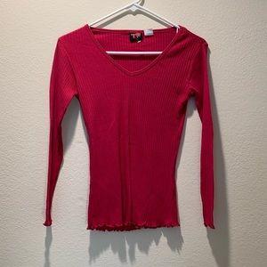 Tops - NWOT Pink shirt